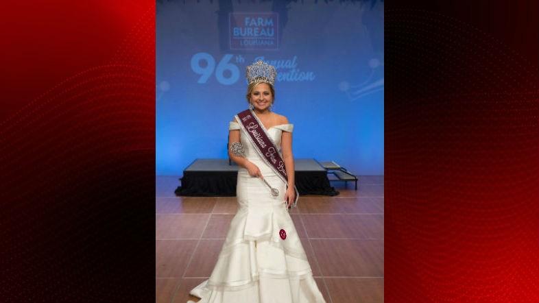 Caroline Hardy was named the 2018 Louisiana Farm Bureau Federation Queen Saturday night during the organization's 96thAnnual Convention.