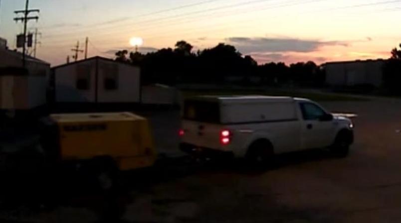Truck seen leaving the scene caught on surveillance video / CPSO