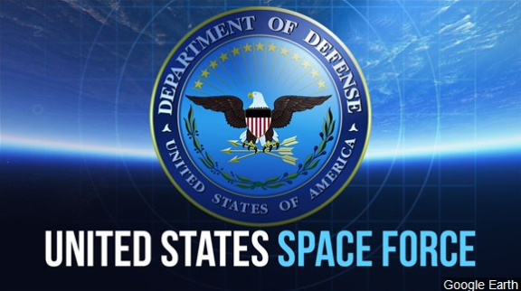 What is Trump's proposed U.S. Space Force?