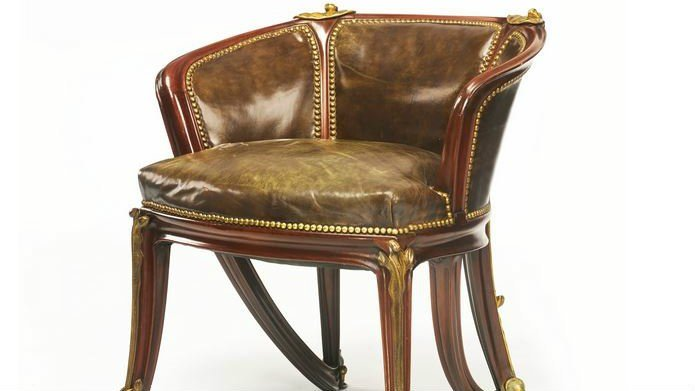 Courtesy of Sotheby's -- The Louis Majorelle chair that sold at auction