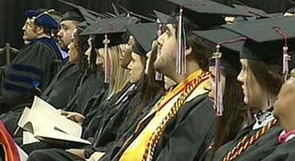 File photo of graduation