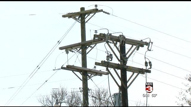 FILE PHOTO OF POWER LINES