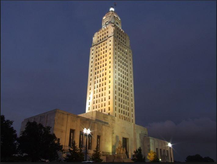 Courtesy Wikipedia -- The Louisiana State Capitol