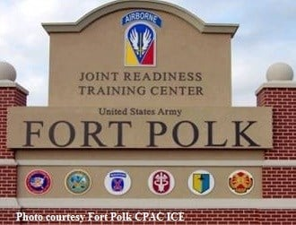 Photo courtesy: Fort Polk CPAC ICE