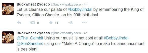 Tweets from Buckwheat Zydeco