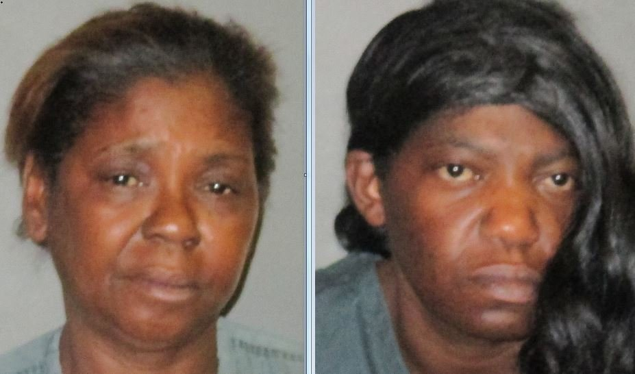 Courtesy the East Baton Rouge Parish Sheriff's Office -- Cathy Fort, left, and Rose Holland