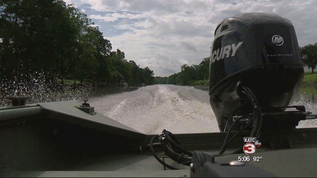 Wildlife and Fisheries agents urge safe boating.