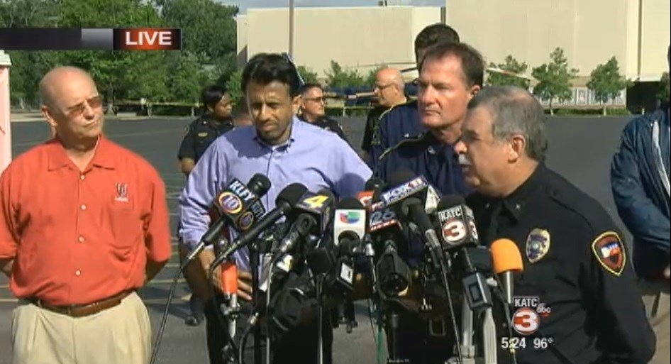 Local and state officials discuss the latest developments Friday in the Grand 16 shooting Thursday night