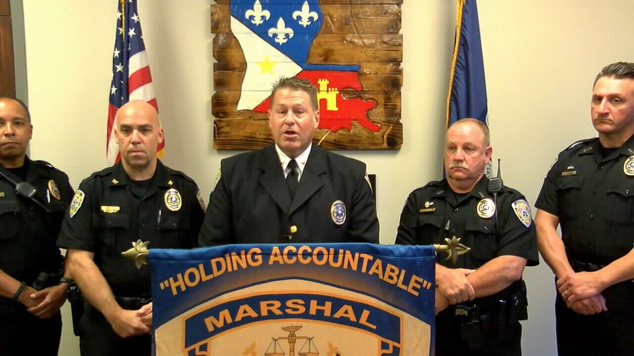 Lafayette City Marshal Brian Pope accused sheriff candidate Mark Garber of encouraging illegal immigrants to come to Louisiana.