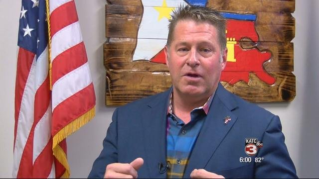 Lafayette City Marshal Brian Pope