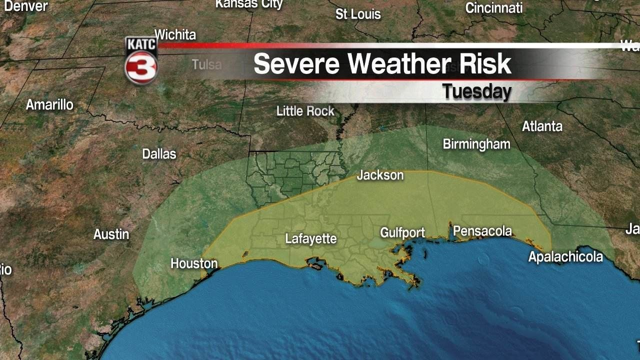Fierce storms could bring strong tornadoes to Deep South