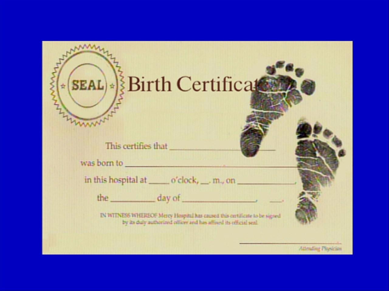 Mosijub Birth Certificate Options 3038102 2018