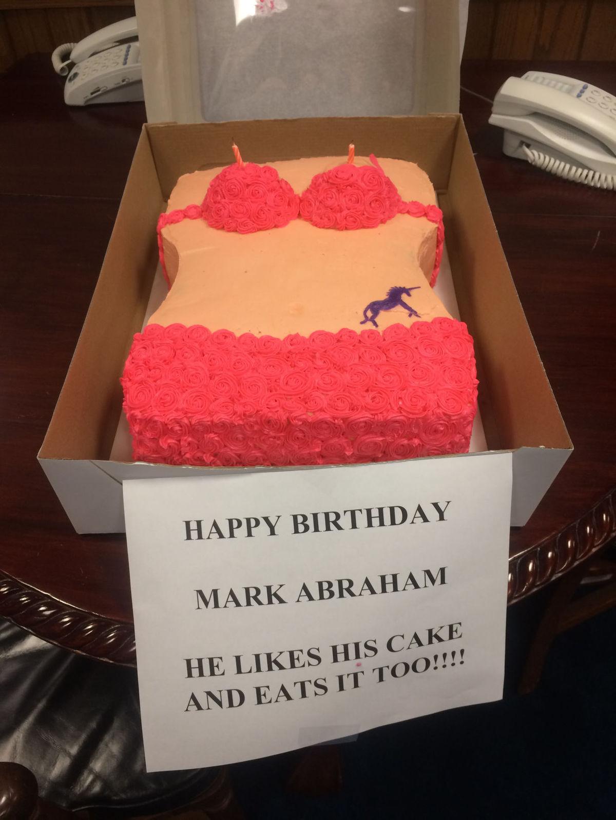 la lawmakers celebrate birthday with cakes in shape of bikini on birthday cakes new iberia la