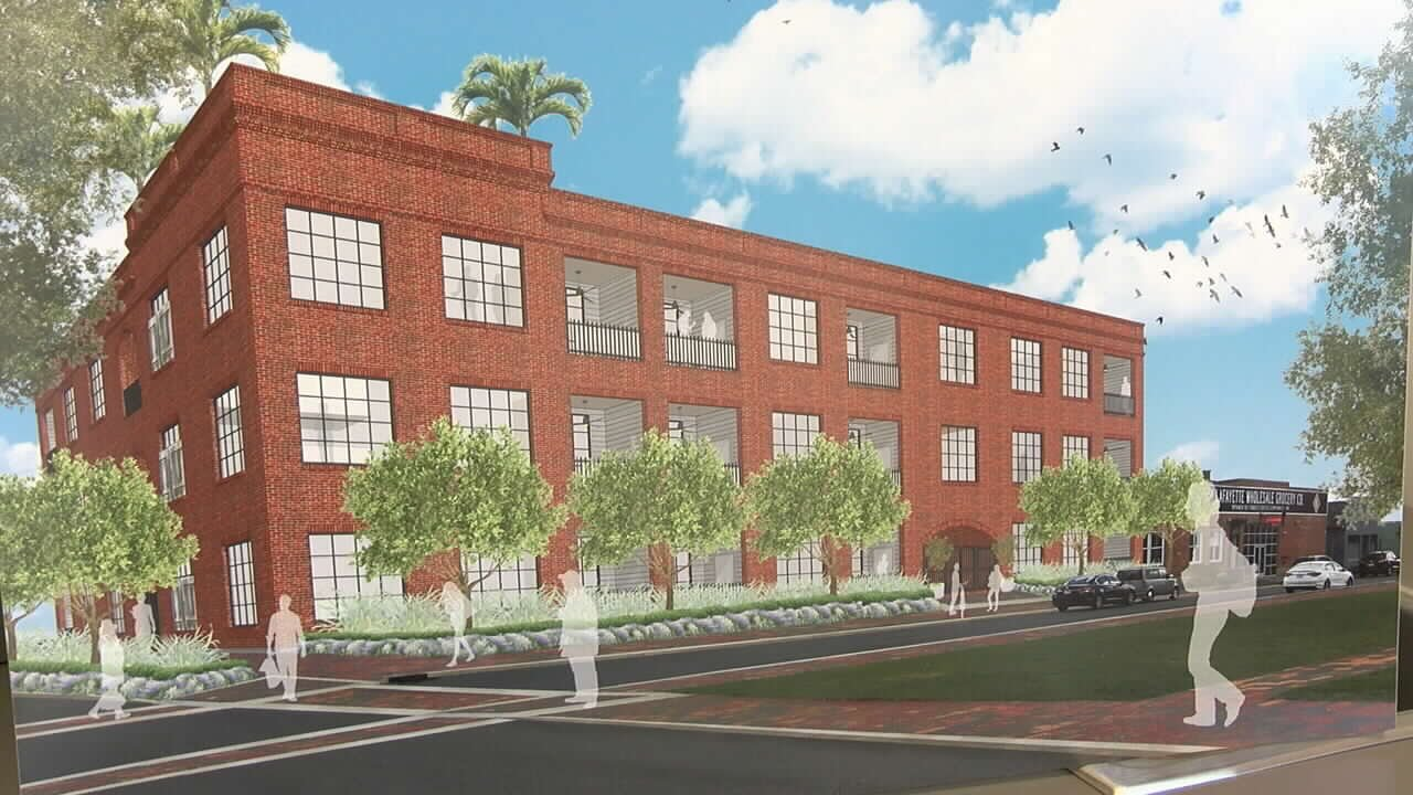 The Monroe Apartment Complex Will Be Located In Downtown Lafayette.