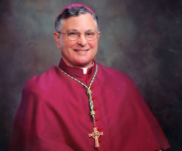 Photo of Bishop Michael Jarrell courtesy the Diocese of Lafayette website